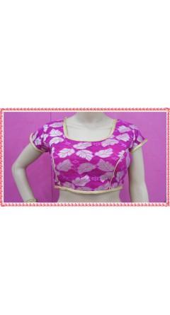 Rani Pink Based Golden Colour Designs