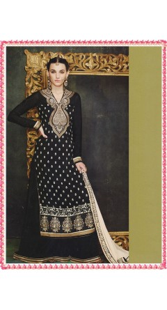 Black & Cream Colour Embroidery Designs